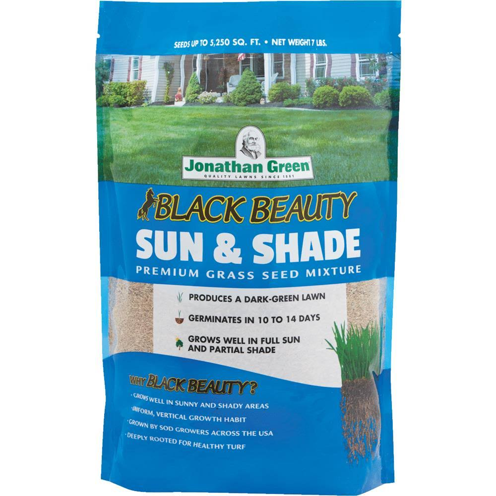 Jonathan Green Sun and Shade Grass Seed Mixture - 7lbs
