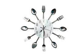 montre de cuisine horloge de cuisine dans le style original d une cuillère et d une