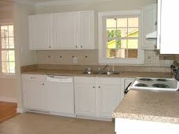 Top White Kitchen Cabinets With Concrete Countertops — Kitchen