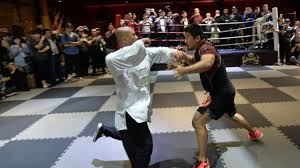 si e social mma in 10 seconds mma fighter wipes floor with thunder
