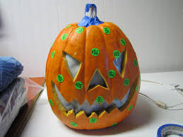 Fiber Optic Pumpkin For Sale by Sustainably Chic Designs More Halloween Decorating U0026 Pumpkin