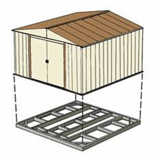 outdoor shed foundation kit 10 x 12 or 10 x 14 fb1014