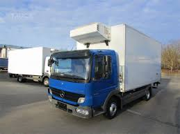 100 Mercedes Box Truck Benz ATEGO 818 Used By TBSI
