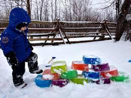 Ice Bricks For Outside Winter Fun
