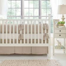linen crib bedding linen baby bedding neutral nursery bedding