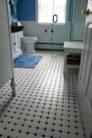 black and white bathroom tile vintage black and white bathroom