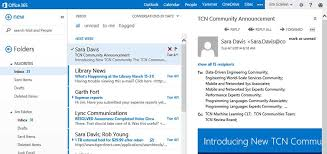 New features for Microsoft Outlook Web App in fice 365