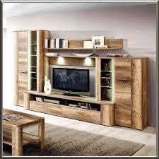 wohnwand modern eiche wohnwand rustikal modern designs