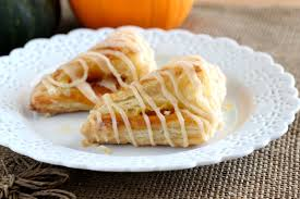 Easy Pumpkin Desserts by Pumpkin Puff Pastry Turnovers Chocolate With Grace