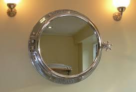 chrome bathroom mirrors porthole bathroom mirror cabinet porthole