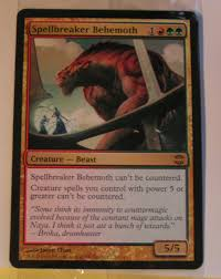 Naya Zoo Deck Mtg by Arb Spellbreaker Behemoth New Card Discussion The Rumor Mill