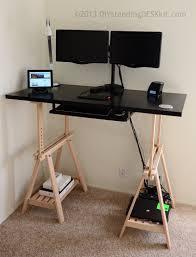 Varidesk Standing Desk Floor Mat by Diy Standing Desk Kit The Adjustable Hight Standing Desk Stand