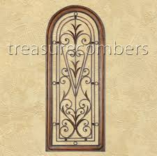 Tuscan Wall Decor Ideas by Wrought Iron Decorative Wall Panels Outdoor Wrought Iron Wall