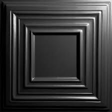Black Ceiling Tiles 2x4 by 2 X 4 Drop Ceiling Tiles Ceiling Tiles The Home Depot
