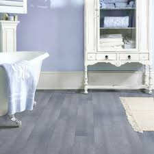 Grip Strip Vinyl Flooring by Trafficmaster Allure 6 In X 36 In Blue Slate Resilient Vinyl