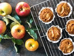 apfel bananen muffins
