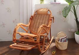 chaises en osier de luxe chaise en rotin meubles en osier salon intérieur planeur