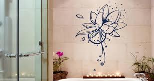 stickers muraux zen on decoration d interieur moderne muraux lotus