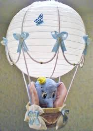 Ebay Pottery Barn Table Lamps by Dumbo In Air Balloon Lamp Light Shade For Baby Nursery Ebay