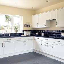 black and white kitchen units kitchen and decor