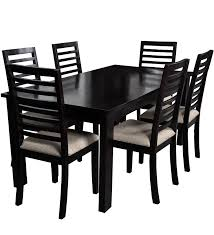 sao paulo six seater dining table sets in espresso walnut from