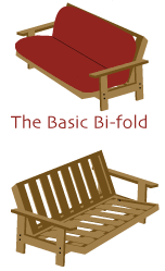 futon assembly instructions for wood and metal frames