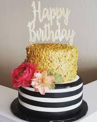 Glam Birthday on Cake Central