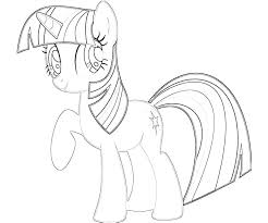 My Little Pony Coloring Pages Twilight Sparkle Princess Page