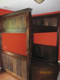 ana white farmhouse loft bed full diy projects