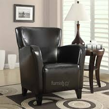 Buy Lovely EBIOWEI Leather Accent Chair In Black, Red, Ivory, Dark ... Accent Chairs Armchairs Swivel More Lowes Canada Brightly Colored Best Home Design 2018 Skyline Fniture Swoop Traditional Arm Chair Polyester Armless Amazoncom Changjie Cushioned Linen Settee Loveseat Sofa Powell Diana In Black White Floral Red Barrel Studio Damann Armchair Reviews Wayfair Aico Beverly Blvd Collection Sit Sleep Walkers Cimarosse Gray Shop 2pcs Set Dark Velvet Free Upholstered Pattern