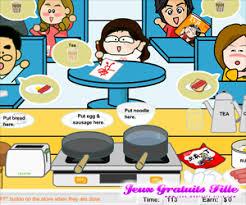 le jeu de la cuisine jeux de cuisine