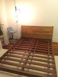 like new cb2 dondra queen bed frame in park slope kings county