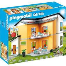 playmobil city modernes wohnhaus 9266