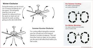 ceiling fan rotation for summer months 100 images ceiling fan