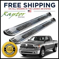 100 Truck Steps Raptor Series 7 Side Running Boards 20092018 Ram Crew Cab