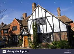 Mock Tudor House Photo by Mock Tudor House In The Suburb Of Totteridge