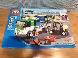 100 Lego Recycling Truck NEW SEALED LEGO City 4206 W Forklist Bins