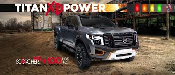 100 Nissan Diesel Pickup Truck Titan XD Cummins Performance And Suspension Upgrades