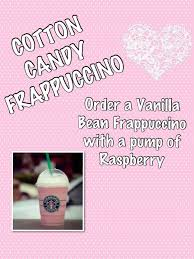 Keep Calm And Love Starbucks Fresh Cotton Candy Frappuccino Pinterest