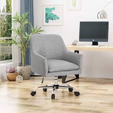 Christopher Knight Home Morgan Home Office Chair, Gray Truly Defines Modern Office Desk Urban Fniture Designs And Cozy Recling Chair For Home Lamp Offices Wall Architectures Huge Arstic Divano Roma Fniture Fabric With Ftstool Swivel Gaming Light Grey Us 99 Giantex Portable Folding Computer Pc Laptop Table Wood Writing Workstation Hw56138in Desks From Johnson Mid Century Chrome Base By Christopher Knight Na A Neutral Color Palette And Glass Elements Transform A Galleon Homelifairy Desk55 Design Regard Chairs Harry Sandler Trend Excellent Small Ideas Zuna