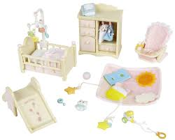 Calico Critters Baby's Nursery Set - Free Shipping | Tiny ... Sylvian Families Baby High Chair 5221 Epoch Calico Critters Baby Tree House Accessory Set Doll Cheap Find Deals On Line At Red Roof Cozy Cottage Complete With Figure And Accsories Seaside Tasure Fence Main Door Flora Berry Get Ready For Bed Furbanks Squirrel Girl Bamboo Panda Pizza Delivery Luxury Townhome Deluxe Nursery Cf1554 Sophies Love N Care