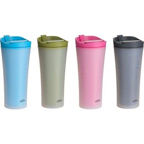 Trudeau 0872459 16 oz Double Walled Travel Tumbler