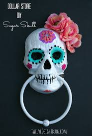 Sugar Skull Pumpkin Pattern by Diy Dollar Store Painted Sugar Skull I Bought One Of These From