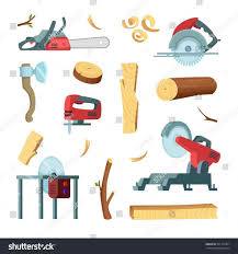 Woodworking Hand Tools Clipart
