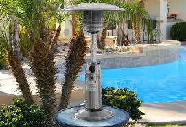 Fire Sense Deluxe Patio Heater Stainless Steel by Tabletop Heaters U2013 Jacuzzi Springfield