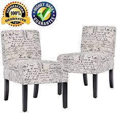 accent stuhl sofa stuhl armlos stuhl esszimmerstuhl 2er set
