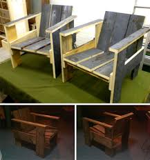 Wooden Crate Diy Chairs What A Refreshing Idea To An Otherwise Boring Chair