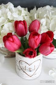 DIY Birch Flower Vases Easy Simple Rustic Table Idea City Farmhouse