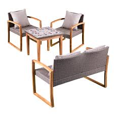 Tanaga 4 Piece Teak Sofa Set With Cushions & Reviews | Joss & Main Belfort Essentials Abaco 54 Square Solid Acacia Wood Top Counter Shop Juvenile Java Mission Table With Two Chairs Set Rich Mocha Hanover Montclair 3piece Metal Outdoor Bar Height Ding Handmade Solid Oak Tall Table Two Chairs And High Stools Small Rectangular Kitchen Homesfeed High In Cheltenham Gloucestershire Gumtree 84 Off Glass Tables Coaster Fniture 102271 Tone Island Parkland 2 Item 94349 Walmart Canada Marble Matching Ayr South Winsome Lynnwood 3pc Drop Leaf Ladder Chair On Carousell