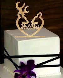Deer Wedding Cake Topper Country Rustic